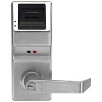 PL3000IC-Y-US26D Alarm Lock Trilogy Electronic Digital Lock in Satin Chrome Finish