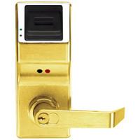 PL3000IC-Y-US3 Alarm Lock Trilogy Electronic Digital Lock in Polished Brass Finish