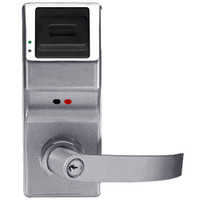 PL3075IC-Y-US26D Alarm Lock Trilogy Electronic Digital Lock in Satin Chrome Finish