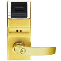 PL3075IC-Y-US3 Alarm Lock Trilogy Electronic Digital Lock in Polished Brass Finish