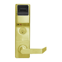 PL3500DBL-US3 Alarm Lock Trilogy Electronic Digital Lock in Polished Brass Finish