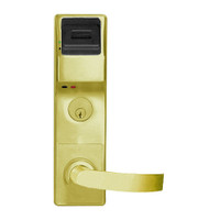 PL3575DBR-US3 Alarm Lock Trilogy Electronic Digital Lock in Polished Brass Finish