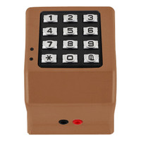 DK3000-MB Alarm Lock Trilogy Electronic Narrow Style Digital Lock in Metallic Bronze Finish