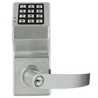 DL6175IC-US26D Alarm Lock Trilogy Electronic Digital Lock in Satin Chrome Finish