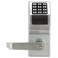 PDL6100IC-S-US26D Alarm Lock Trilogy Electronic Digital Lock in Satin Chrome Finish