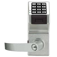 PDL6175IC-US26D Alarm Lock Trilogy Electronic Digital Lock in Satin Chrome Finish