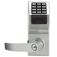 PDL6175IC-Y-US26D Alarm Lock Trilogy Electronic Digital Lock in Satin Chrome Finish