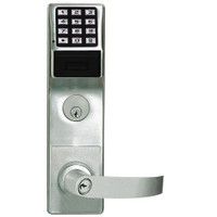 PDL6575CRR-26D Alarm Lock Trilogy Networx Electronic Digital Lock in Satin Chrome Finish