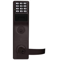 PDL6575CRR-10B Alarm Lock Trilogy Networx Electronic Digital Lock in Duronodic Finish