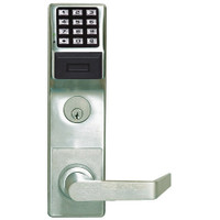 PDL6600CRR-26D Alarm Lock Trilogy Networx Electronic Digital Lock in Satin Chrome Finish