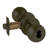 A80JD-ORB-613 Schlage Orbit Commercial Cylindrical Lock in Oil Rubbed Bronze