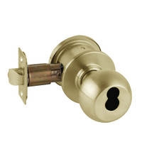 A79JD-ORB-606 Schlage Orbit Commercial Cylindrical Lock in Satin Brass
