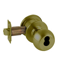 A79JD-ORB-609 Schlage Orbit Commercial Cylindrical Lock in Antique Brass