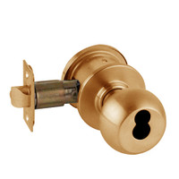 A79JD-ORB-612 Schlage Orbit Commercial Cylindrical Lock in Satin Bronze