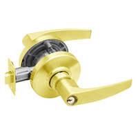 AL50PD-JUP-605 Schlage Jupiter Cylindrical Lock in Bright Brass