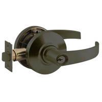 AL80PD-NEP-613 Schlage Neptune Cylindrical Lock in Oil Rubbed Bronze