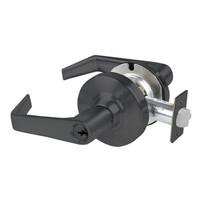AL53PD-SAT-609 Schlage Saturn Cylindrical Lock in Antique Brass
