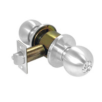 D53PD-ORB-625 Schlage Orbit Cylindrical Lock in Bright Chromium Plated