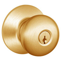 D72PD-PLY-612 Schlage Plymouth Cylindrical Lock in Satin Bronze