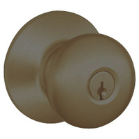 D72PD-PLY-613 Schlage Plymouth Cylindrical Lock in Oil Rubbed Bronze