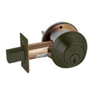 B660P-613 Schlage B660 Bored Deadbolt Locks in Oil Rubbed Bronze