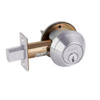 B661P-626 Schlage B660 Bored Deadbolt Locks in Satin Chromium Plated