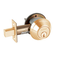 B664P-612 Schlage B660 Bored Deadbolt Locks in Satin Bronze