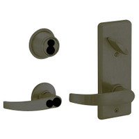 S280JD-NEP-613 Schlage S280PD Neptune Style Interconnected Lock in Oil Rubbed Bronze
