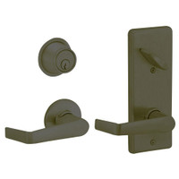 S210PD-SAT-613 Schlage S210PD Saturn Style Interconnected Lock in Oil Rubbed Bronze