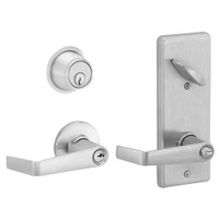 S251PD-SAT-619 Schlage S251PD Saturn Style Interconnected Lock in Satin Nickel