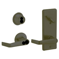 S270JD-SAT-613 Schlage S270PD Saturn Style Interconnected Lock in Oil Rubbed Bronze