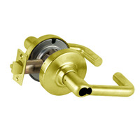 ND75JD-TLR-605 Schlage Tubular Cylindrical Lock in Bright Brass