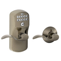 FE575-PLY-620-ACC Schlage Electrical Keypad Entry Auto-Lock in Antique Pewter