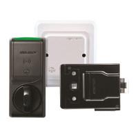 K100-622H-PA-B2 Hes Series Wireless Cabinet Lock in Black