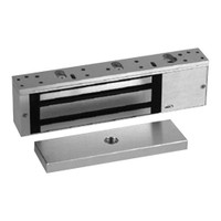 8310-DSS-28 RCI 8310 Series Single Outswinging Magnetic Lock with Door Status Sensor in Brushed Anodized Aluminum Finish