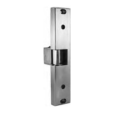 0161-5-32D RCI 12V AC/DC Semi-Mortise Rim Electric Strike Series in Brushed Stainless Steel Finish
