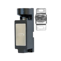 3513-DM RCI Eectromechanical Cabinet Lock with Dual Monitoring in Black Finish