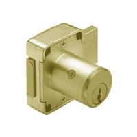 Olympus 100DR-KD-US4-1-3/8 Deadbolt Locks in Satin Brass Finish