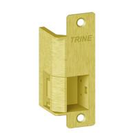 """EN435-24AC-US3-LH Trine EN Series Cavity Centerline Offset 3/4"""" Outdoor Electric Strikes in Bright Brass Finish"""