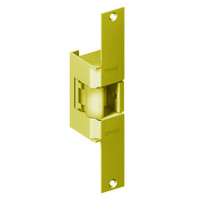 EN960-12AC-US3-LH Trine EN Series Indoor/Outdoor Fire rated Electric Strikes in Bright Brass Finish