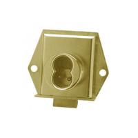 Olympus 725ML-DR-RH-US4 Cabinet Locks in Satin Brass Finish