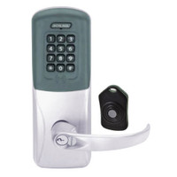 CO220-CY-75-PRK-SPA-RD-626 Schlage Standalone Classroom Lockdown Solution Cylindrical Proximity Keypad with in Satin Chrome