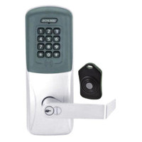 CO220-CY-75-PRK-RHO-RD-625 Schlage Standalone Classroom Lockdown Solution Cylindrical Proximity Keypad with in Bright Chrome