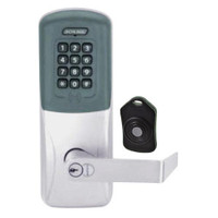 CO220-CY-75-PRK-RHO-RD-626 Schlage Standalone Classroom Lockdown Solution Cylindrical Proximity Keypad with in Satin Chrome