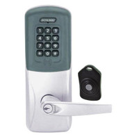 CO220-CY-75-PRK-ATH-RD-626 Schlage Standalone Classroom Lockdown Solution Cylindrical Proximity Keypad with in Satin Chrome