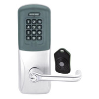 CO220-CY-75-PRK-TLR-RD-625 Schlage Standalone Classroom Lockdown Solution Cylindrical Proximity Keypad with in Bright Chrome