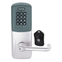 CO220-CY-75-PRK-TLR-RD-626 Schlage Standalone Classroom Lockdown Solution Cylindrical Proximity Keypad with in Satin Chrome