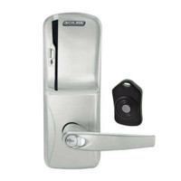 CO220-MS-75-MS-ATH-RD-619 Schlage Standalone Classroom Lockdown Solution Mortise Swipe locks in Satin Nickel