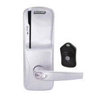 CO220-MS-75-MS-ATH-RD-626 Schlage Standalone Classroom Lockdown Solution Mortise Swipe locks in Satin Chrome