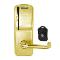 CO220-MS-75-MS-TLR-RD-606 Schlage Standalone Classroom Lockdown Solution Mortise Swipe locks in Satin Brass